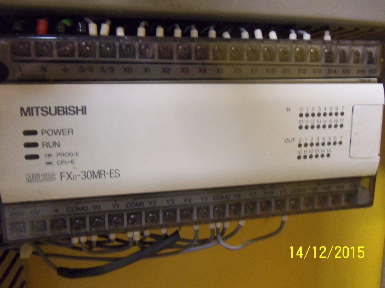 11-Mitsubishi Melsec PLC FX0-30MR-ES.JPG