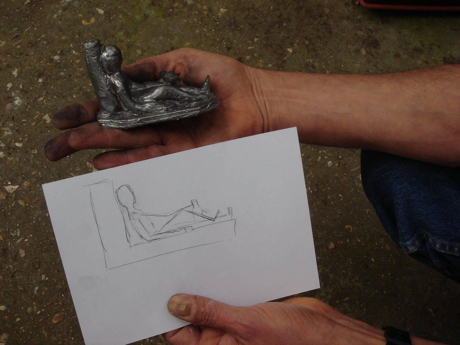 26du dessin à la statue.JPG