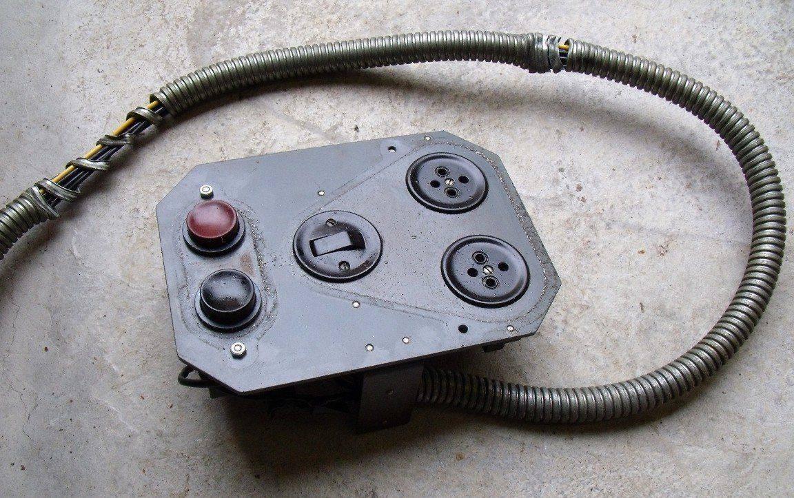 Boîtier et câble de commande déposés.JPG