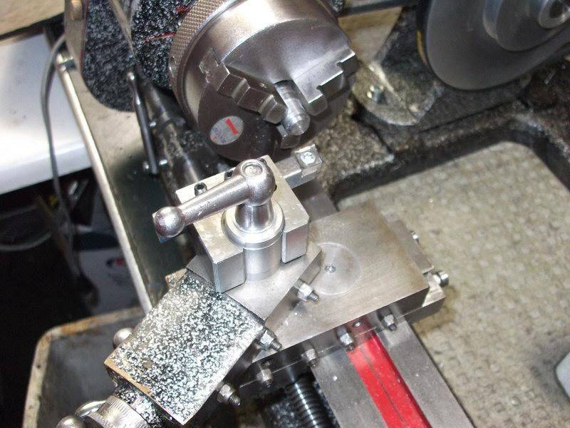 Cadet QCTP prototype on lathe.jpg