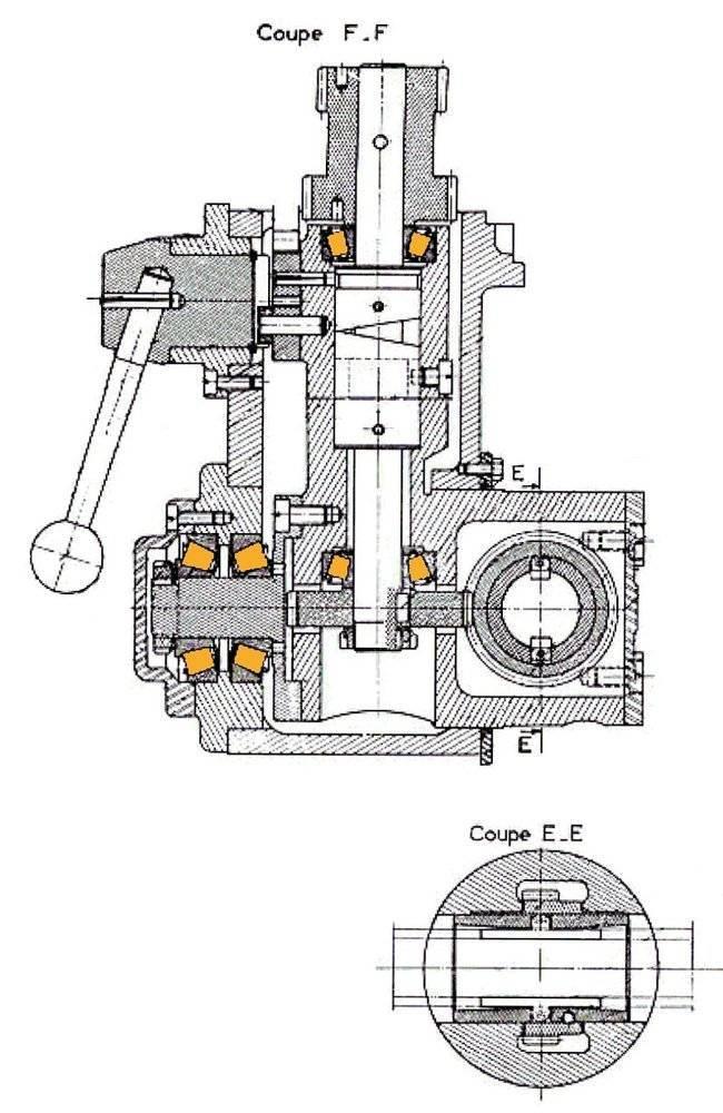 Cazeneuve tablier HB500 HB575 - Ensemble pompe renvoi.jpg