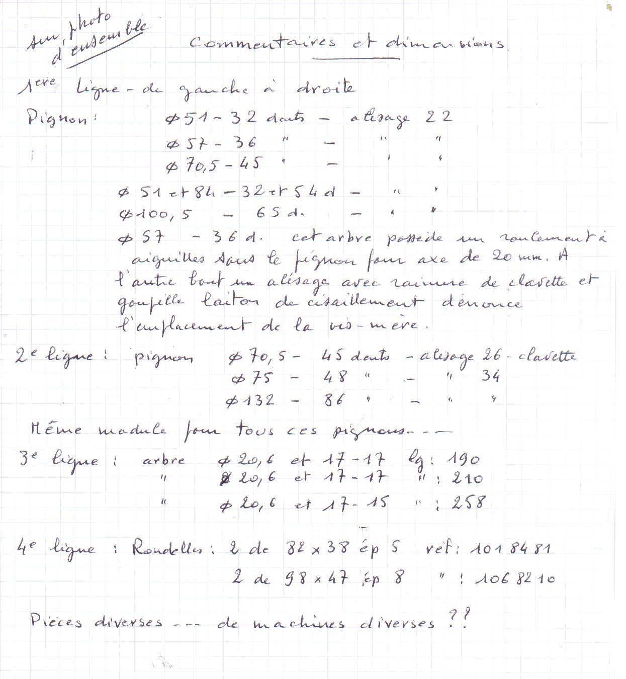 commentaires et dimensions de pièces diverses.jpg