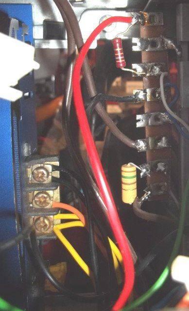 connexion ampli et LED UC.JPG