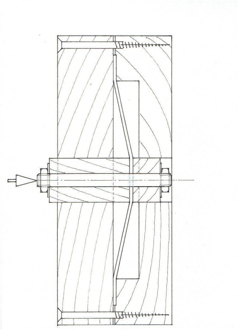 Coupe de matrice Roue de Bugatti 35 à pédales 001JPEG.jpg