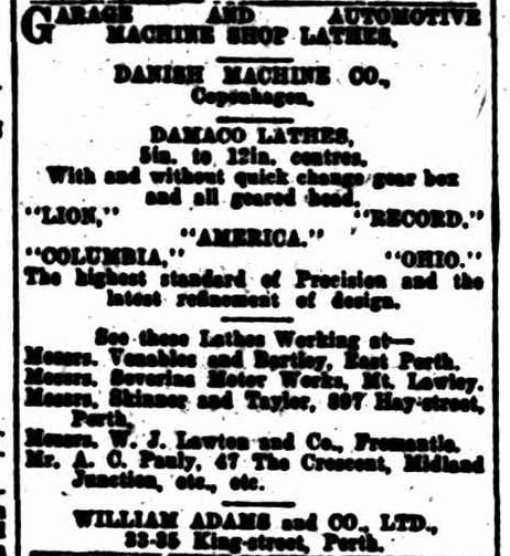 Danish Machine Co PUB 1924 Australie.png