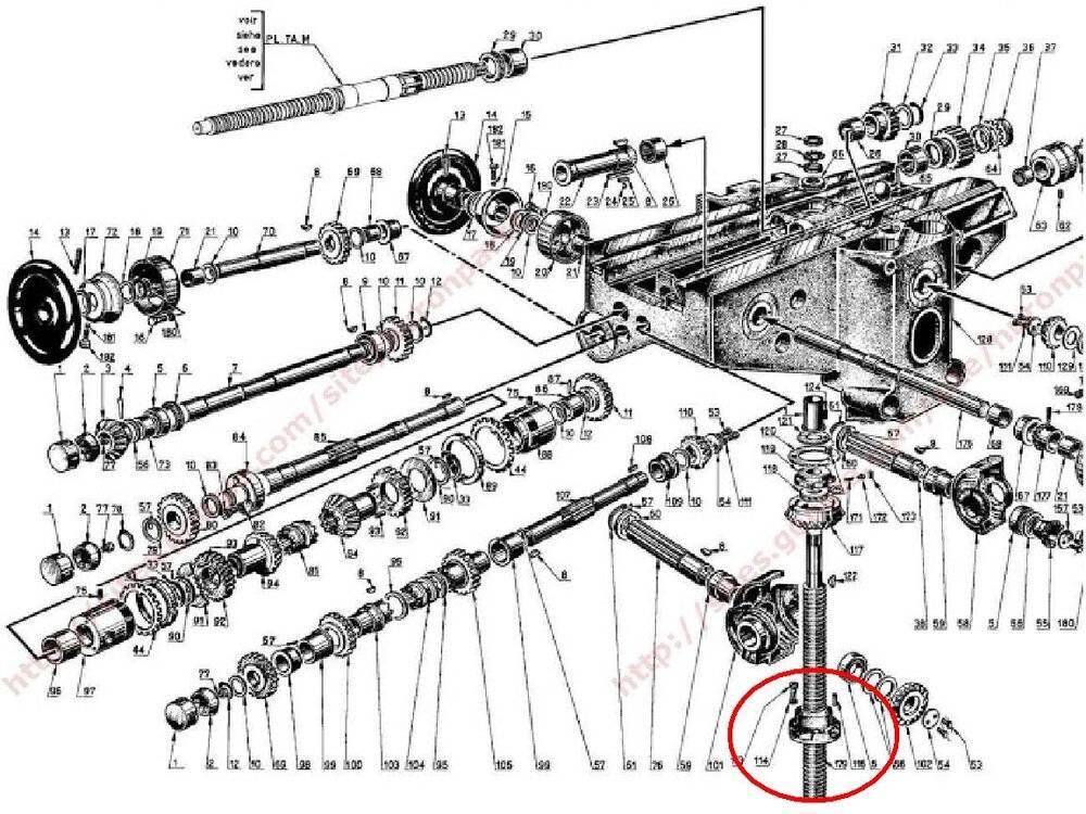 Huron transmission vertical nut.JPG
