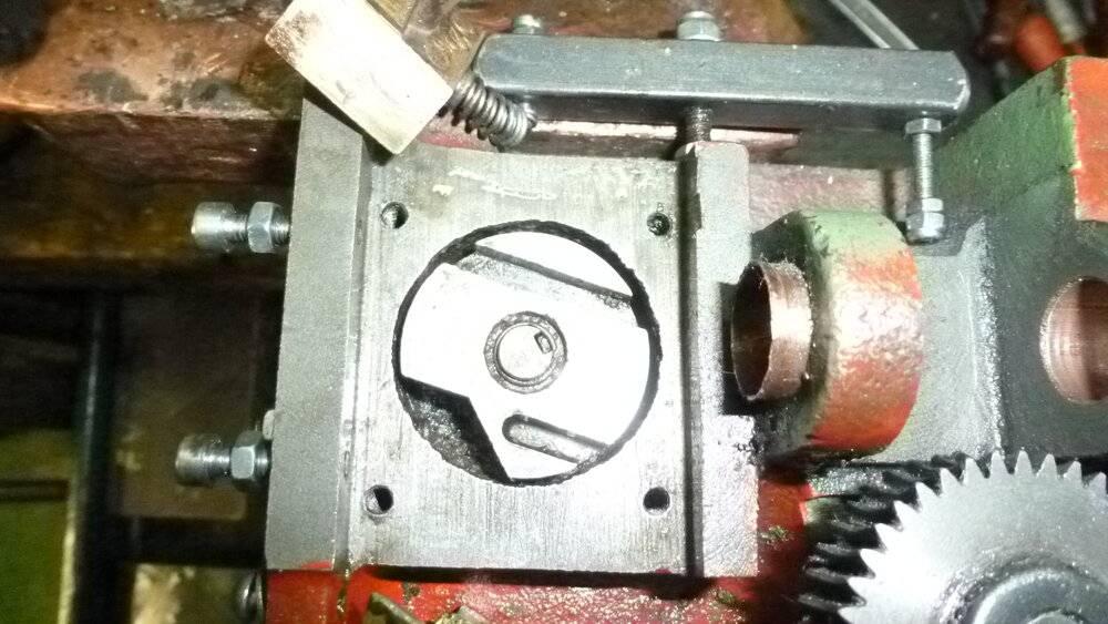 Lock cam - Levier de manoeuvre des demi-noix .JPG