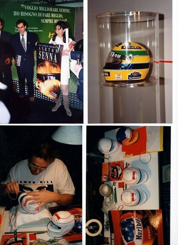 Meeting with Viviane SENNA. - BOLOGNA MOTOR SHOW 1997.jpg