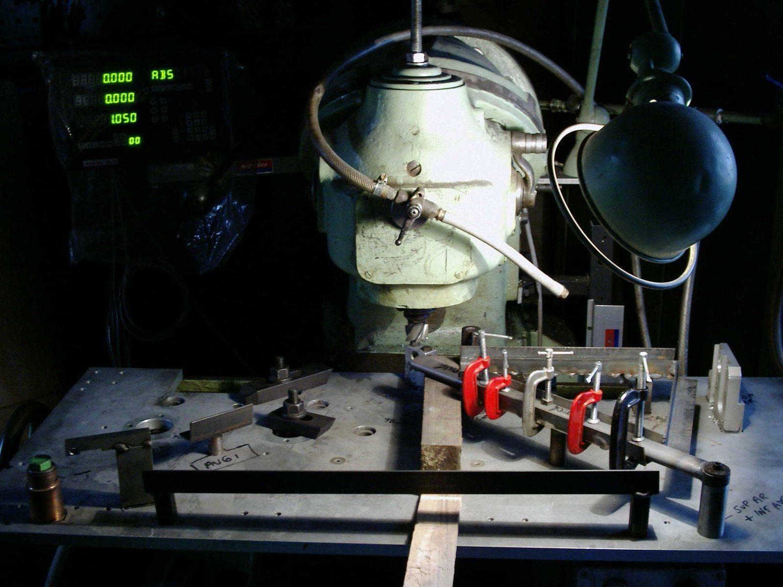 montage d'usinage deuxième emplacement de cage.JPG