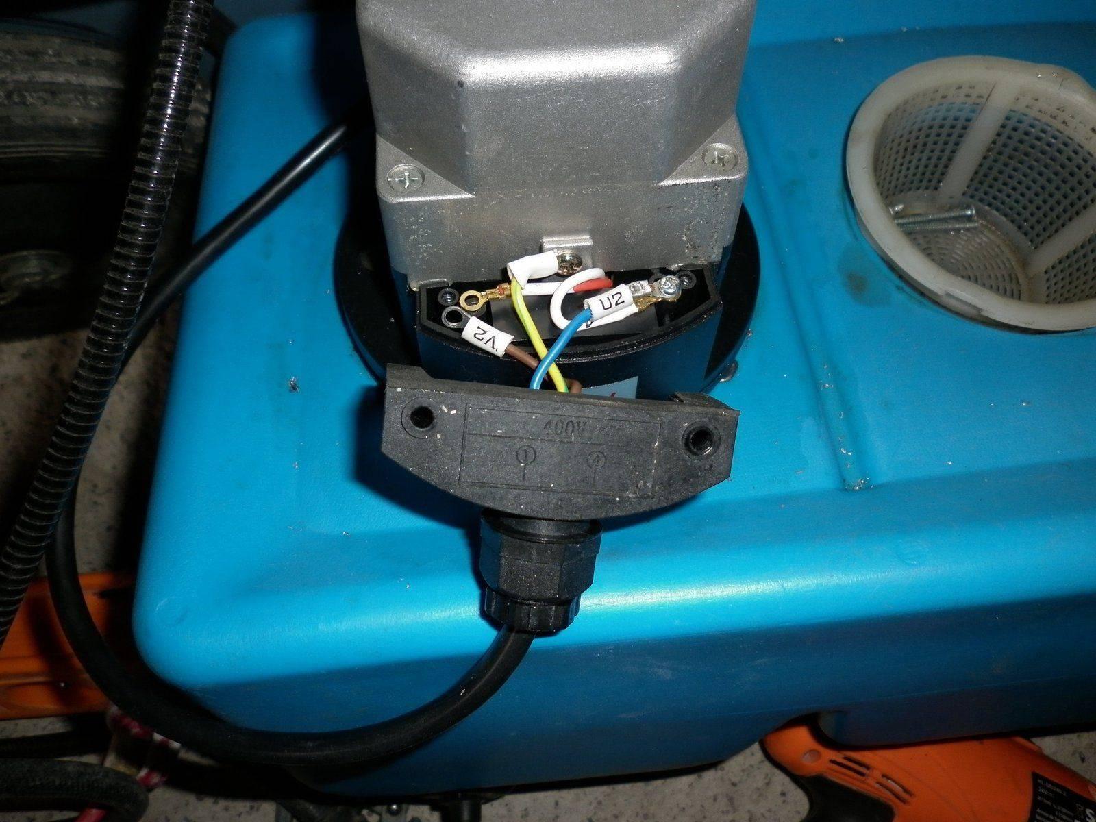 pompe cablâge extérieur d'origine.JPG
