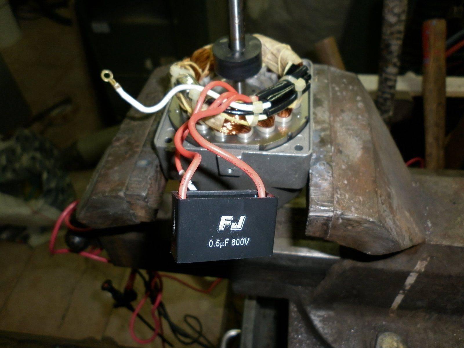 pompe cablâge intérieur+condo d'origine.JPG