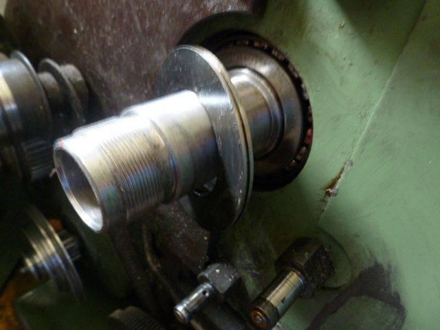 Remplacement des  roulements côniques  de broche 62x35x18mm 004.JPG