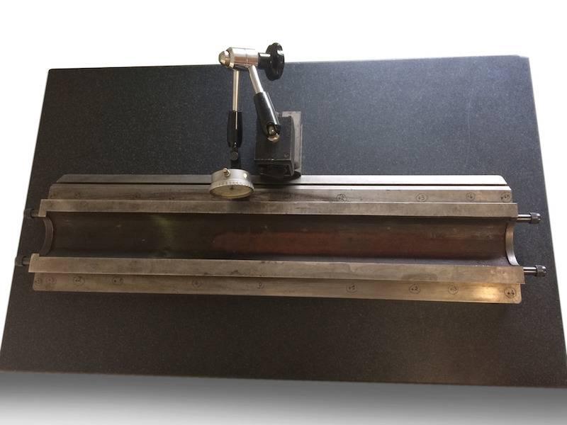 Restauration d'une fraiseuse relevé position glissière table 1.jpg