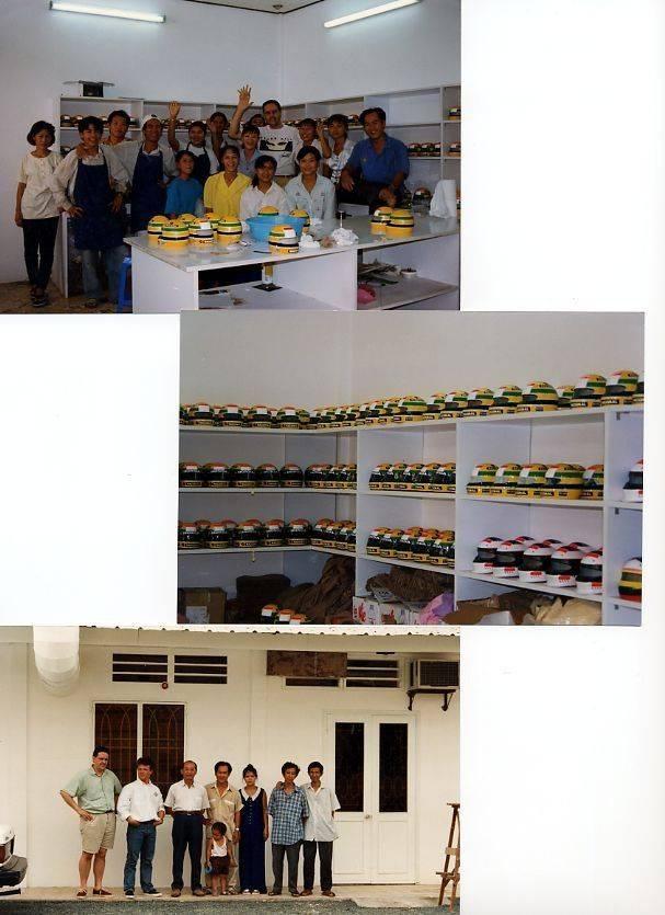 Saigon factory 1997 - Return to Europe day..jpg