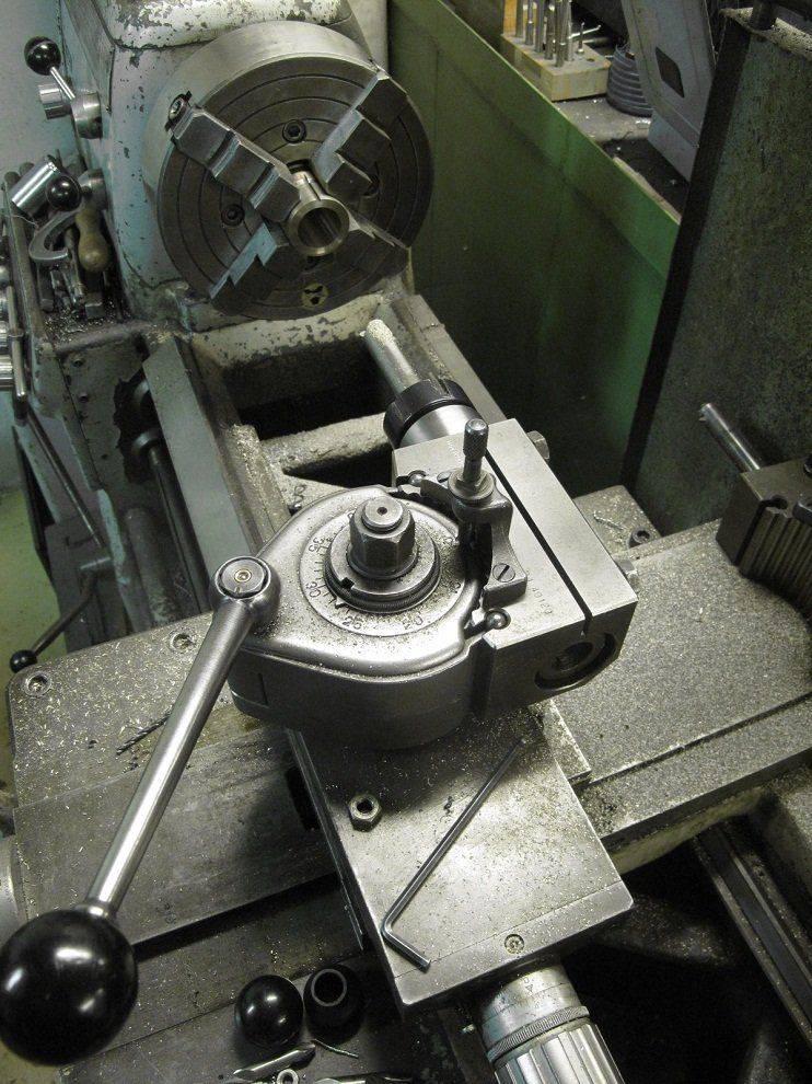 Travail - Réparation de noix de vis longitudinale Deckel FP1 (14).JPG