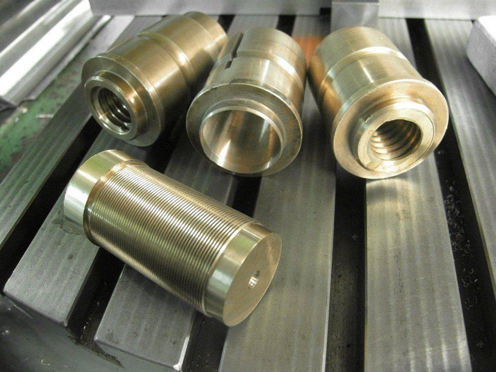 Travail - Réparation de noix de vis longitudinale Deckel FP1 (2).JPG