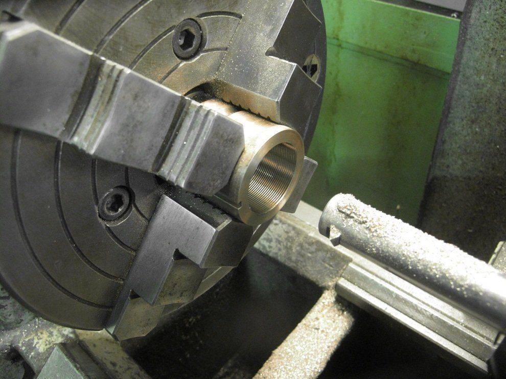 Travail - Réparation de noix de vis longitudinale Deckel FP1 (23).JPG