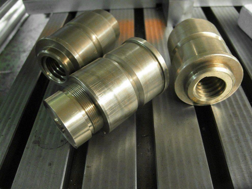 Travail - Réparation de noix de vis longitudinale Deckel FP1 (27).JPG