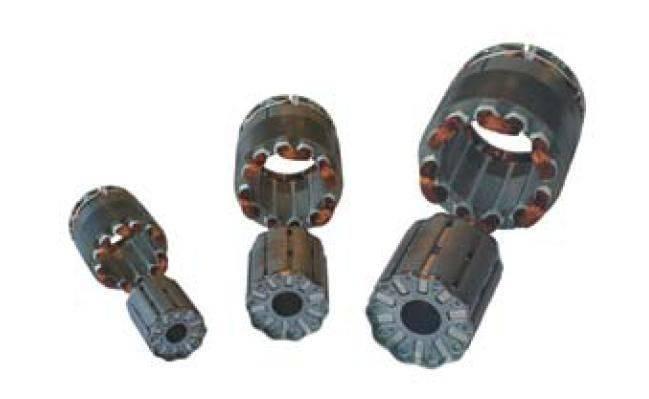 vue bobinage et rotor.JPG