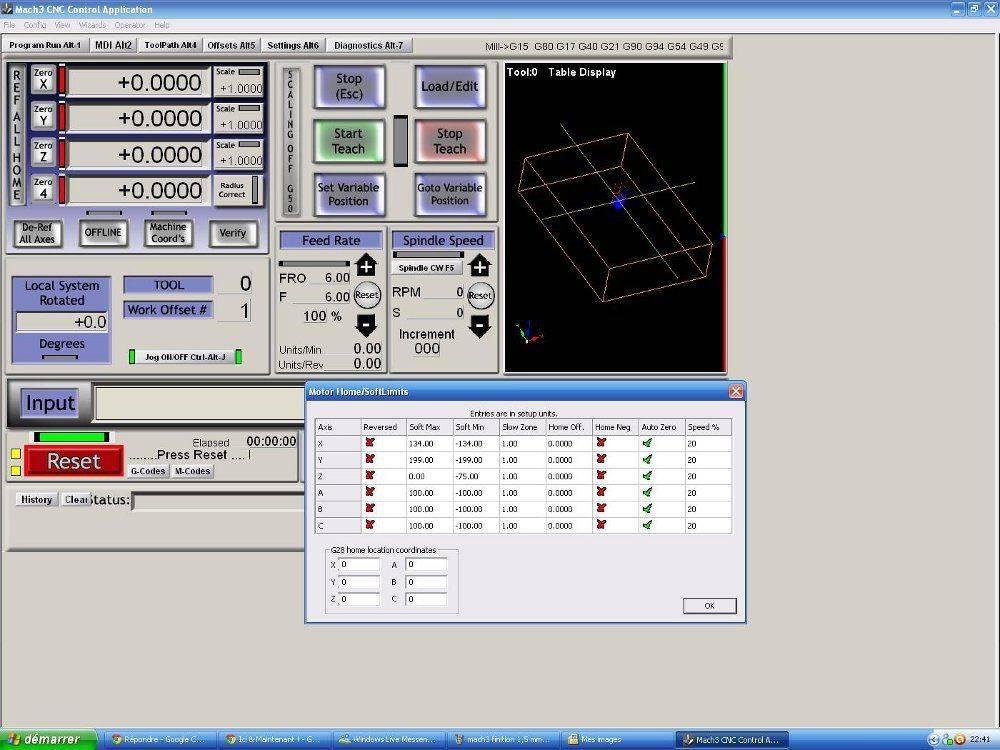 XYZ dimensions table et brut a usiner.JPG