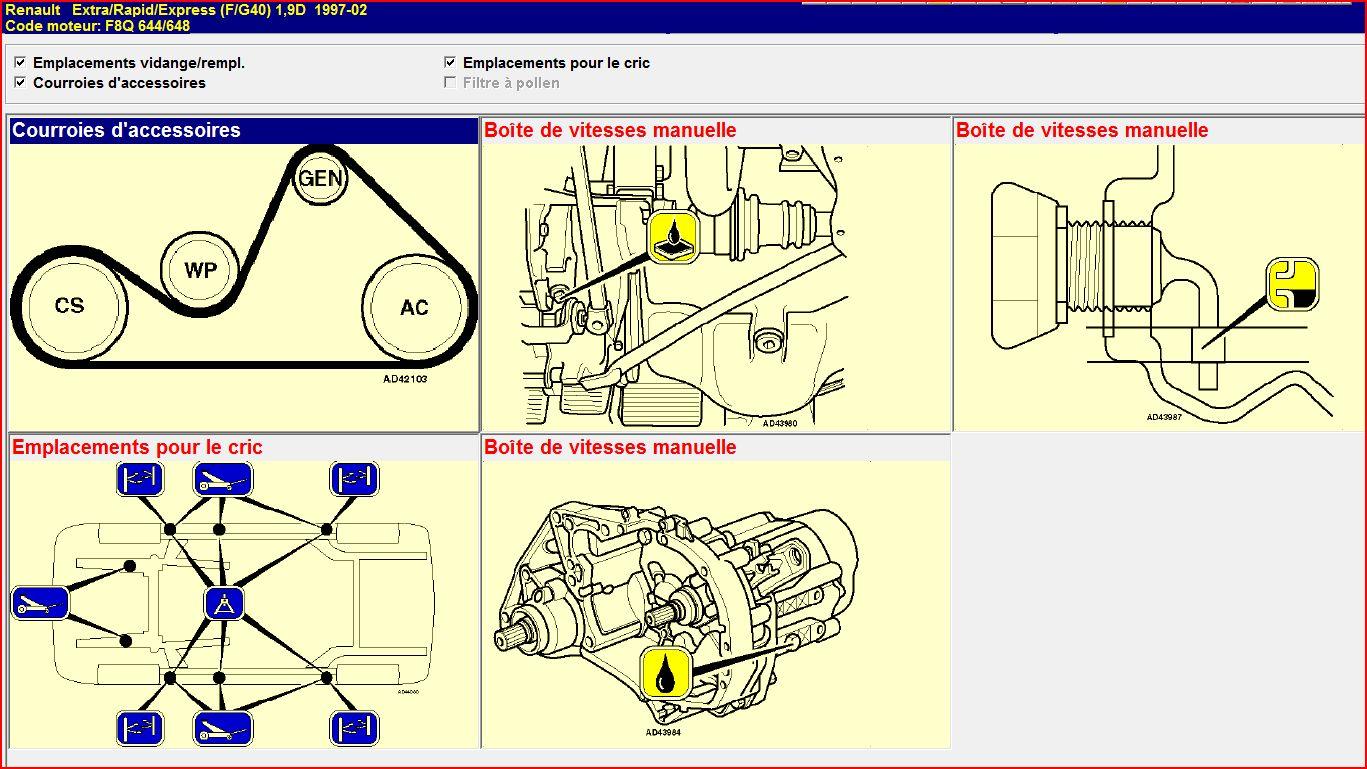 Illustrations entretien des Renault Express Capturer2_978