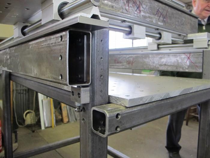 fraiseuse cnc portique pour usinage d 39 aluminium usinages. Black Bedroom Furniture Sets. Home Design Ideas