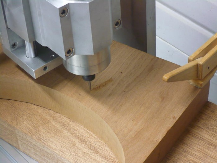 La CNC 6040 VFD de William Blake  Usinages ~ Fraiseuse Cnc Bois