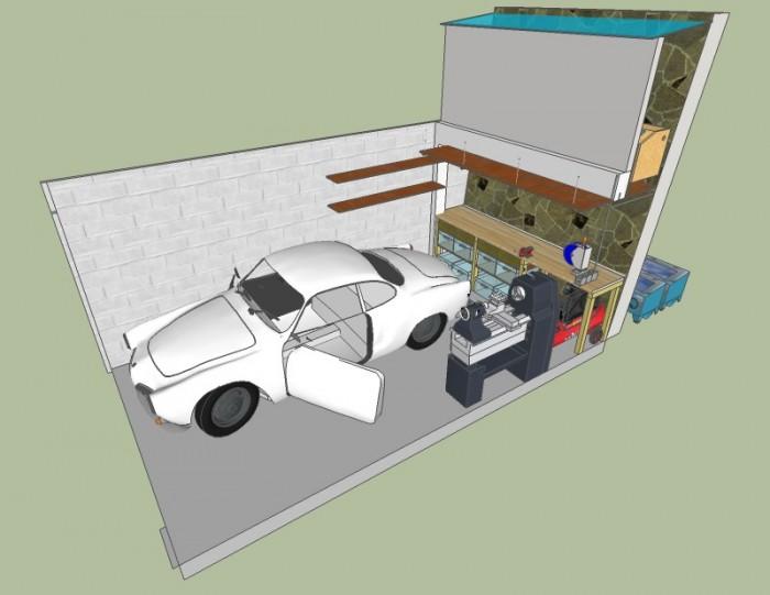 Sujet Plan De Garage